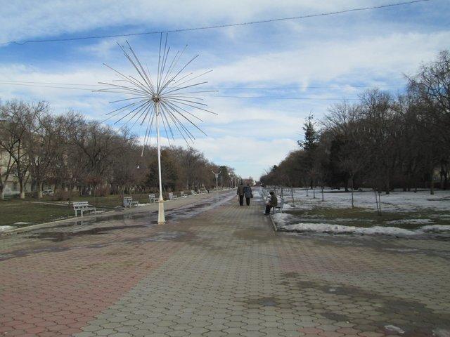 Бульвар Мира.