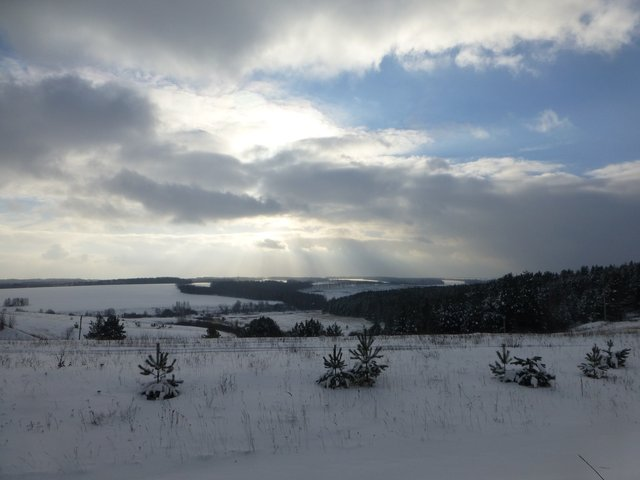 Нижегородская губерния встретила нас хорошей погодой.