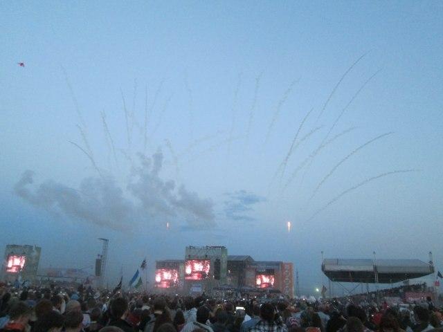 Рок над Волгой 2013: большой фотоотчет Rammstein