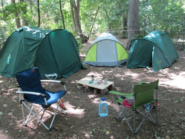 Первая версия нашего лагеря