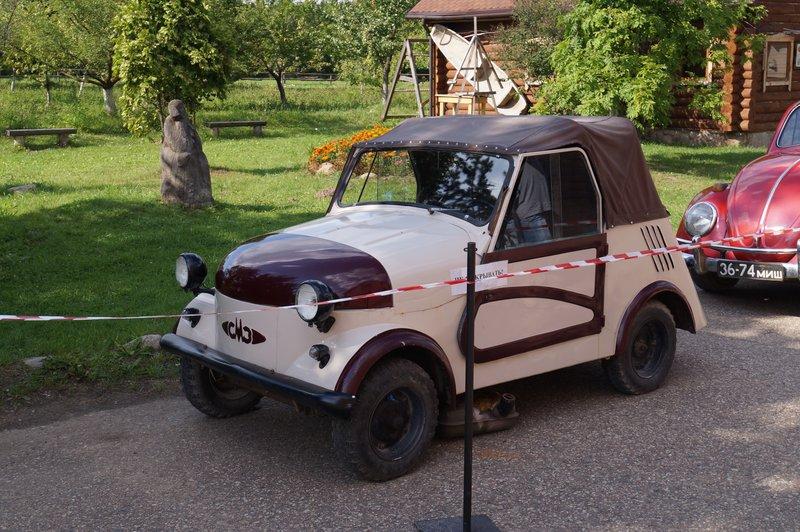 Автомобильный музей в Дудутках
