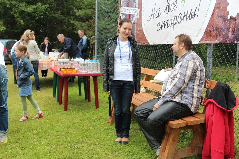 Мотопапа очаровывал волонтеров