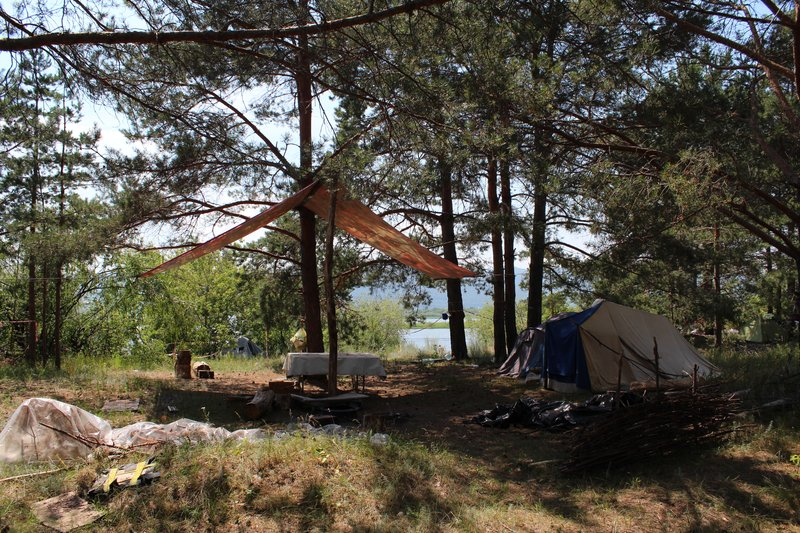 Лагеря в котором на мой вкус выглядят как курорт