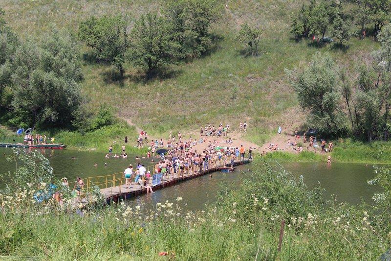 Купаться можно и на основном озере