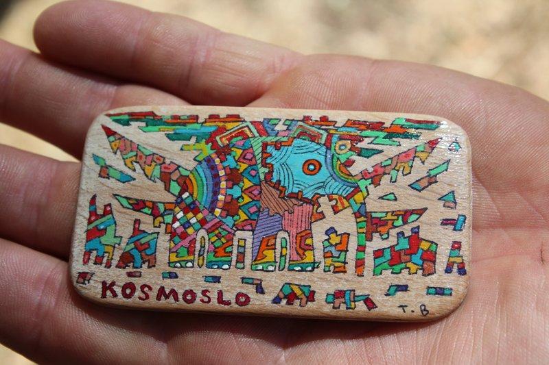 Я купил себе офигенный магнит из серии KOSMOSLO