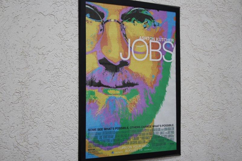 Плакат с Джобсом