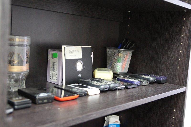 Коллекция раритетных мобильных