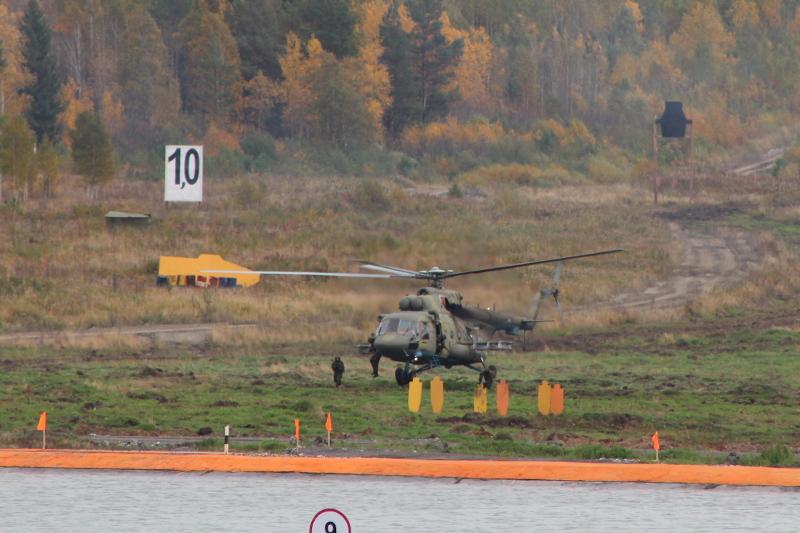 Высадка десанта с вертолета
