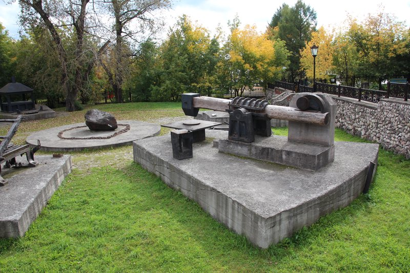 Парк около краеведческого музея