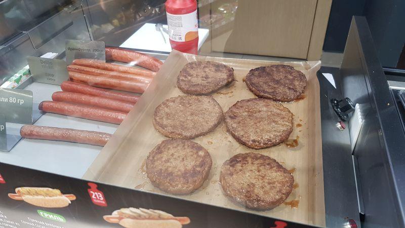 Бургеры и хотдоги по разумной цене