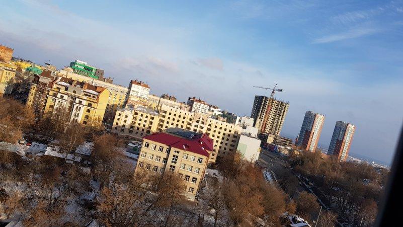 Дневной вид из окна