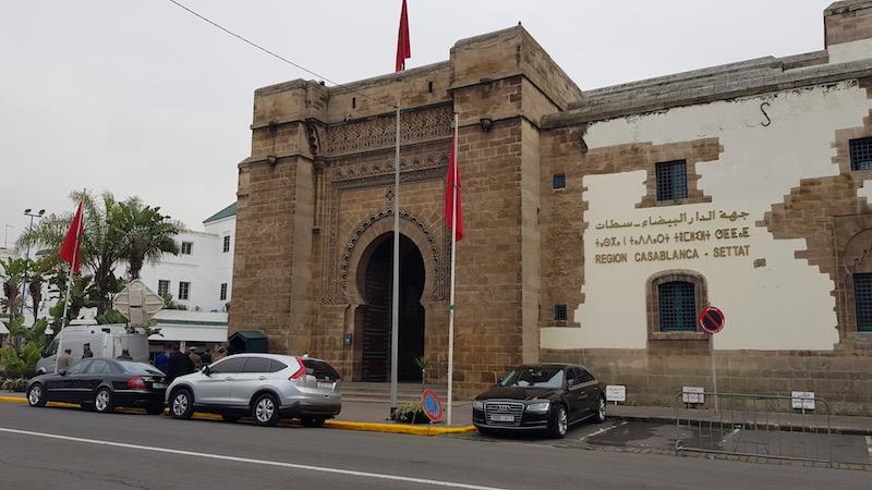 Mahkama du Pacha - здание городской администрации
