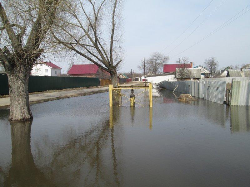 Затопленный поселок