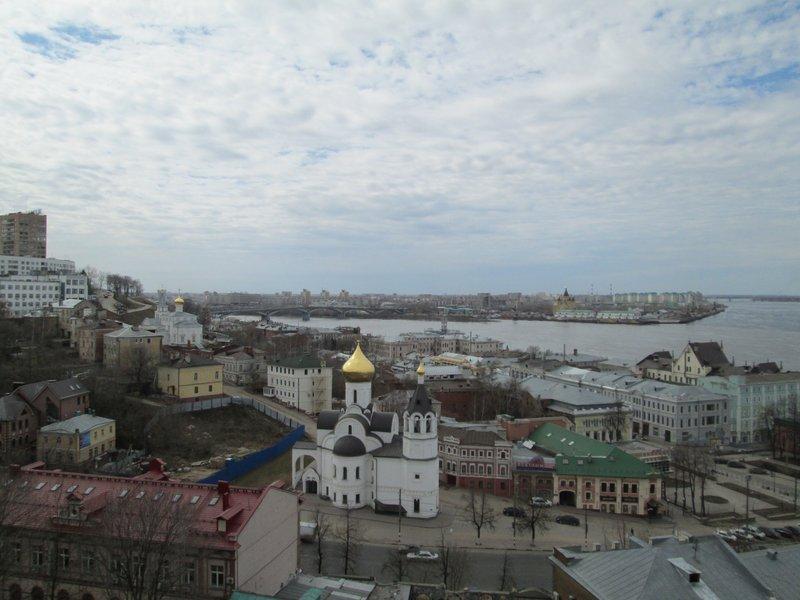 Вид от стен Кремля
