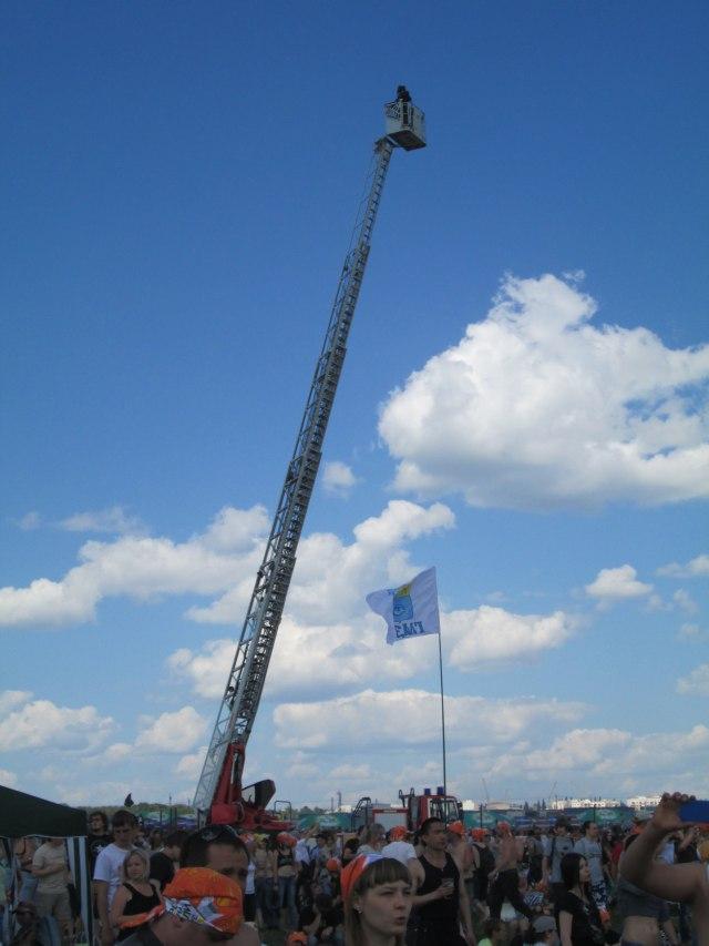 АГП в центре поляны РнВ2013