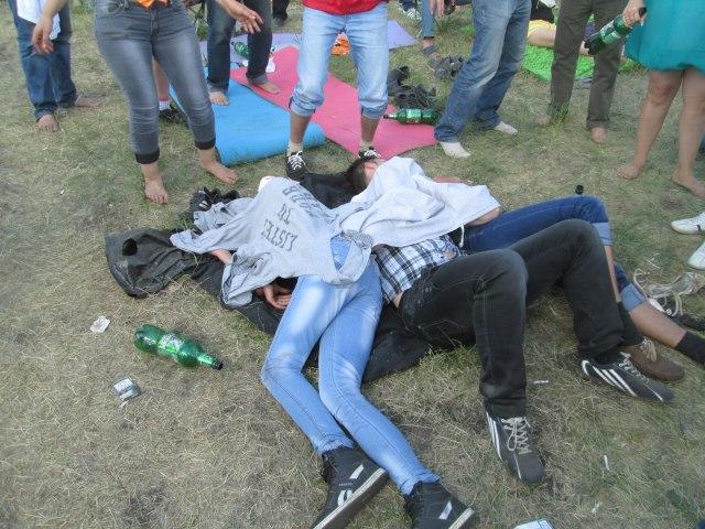 Алкоголь на Роке над Волгой 2013