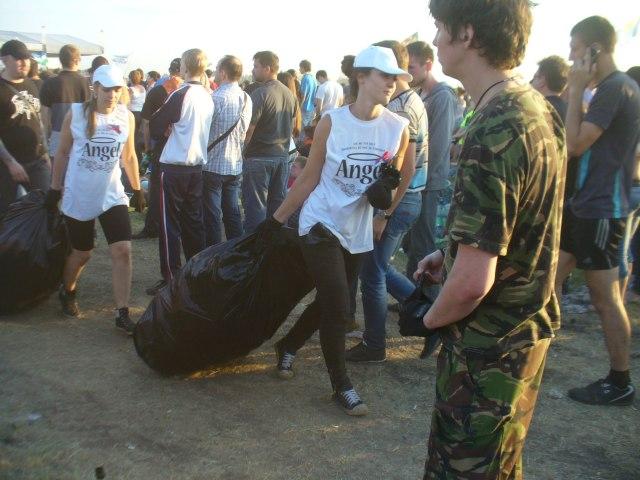Вывоз мусора с РнВ 2013