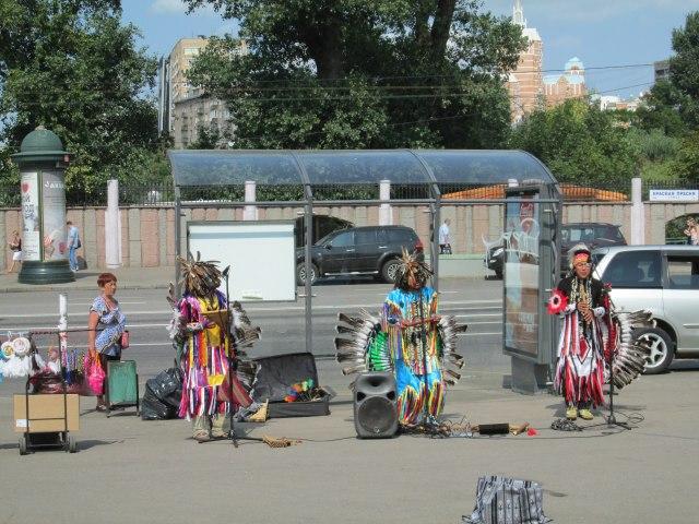 Индейцы Москвы