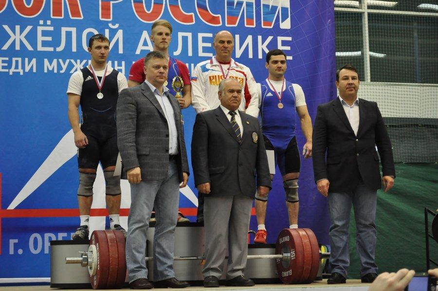 Сразу после соревнований проходит награждение