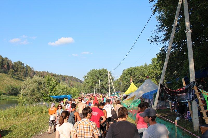 Главная улица фестиваля