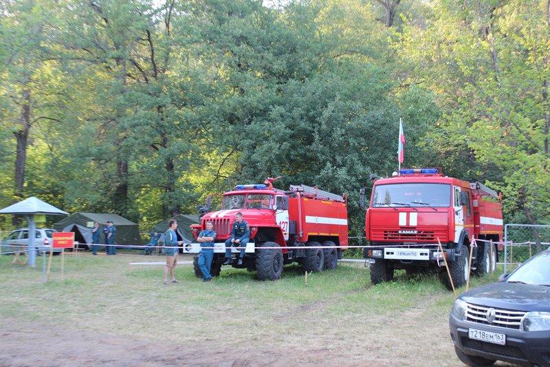 И, пожарные, само собой