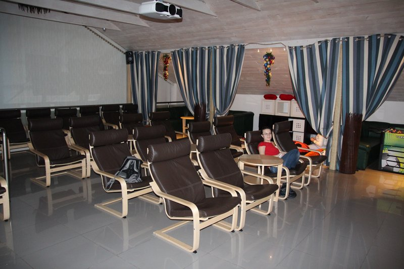 Уютный кинотеатр