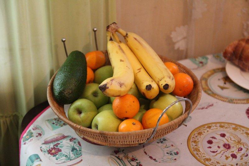 У нас всегда есть свежие фрукты