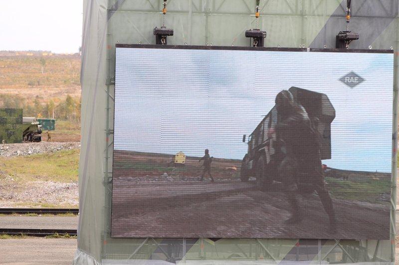 Все самое важное и интересное транслировалось в режиме реального времени на больших экранах