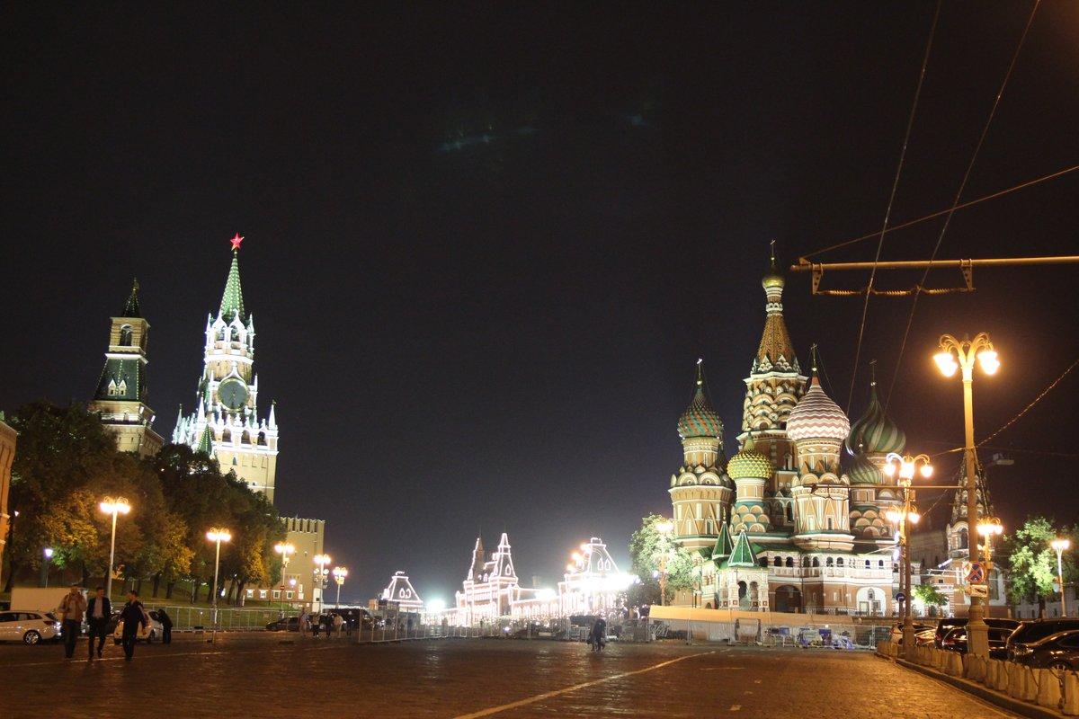 Ночная Москва прекрасна