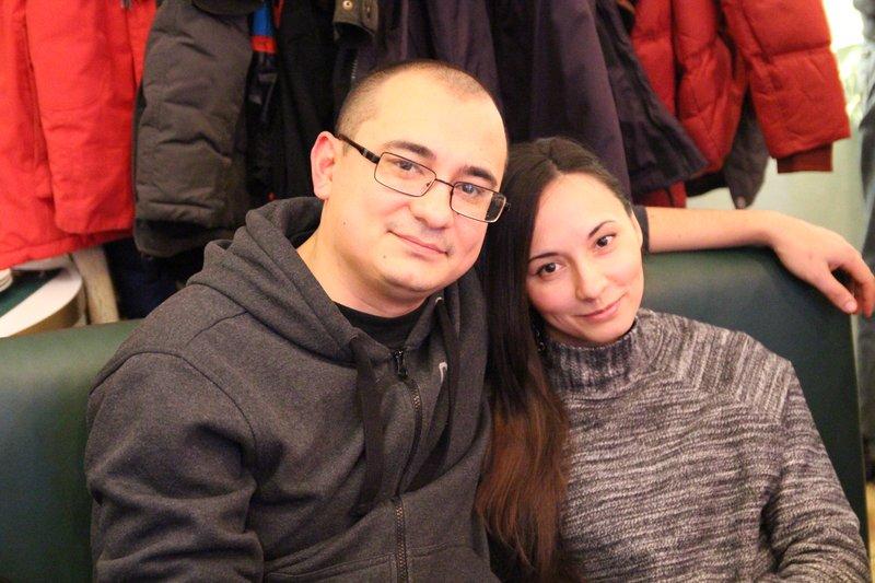 Мимими, наши татарские сладости, Руслан и Наиля