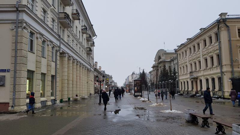 В целом же, погода подвела, в Казани пасмурно и дождь