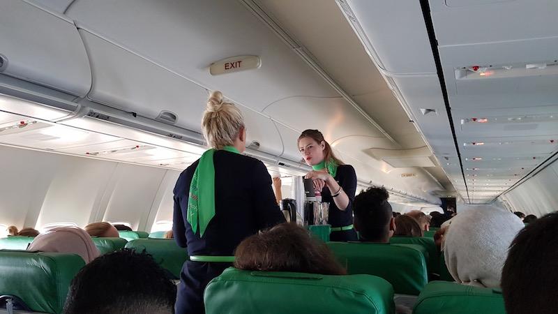 На рейсе Амстердам-Касабланка очень мощно добивают допродажами