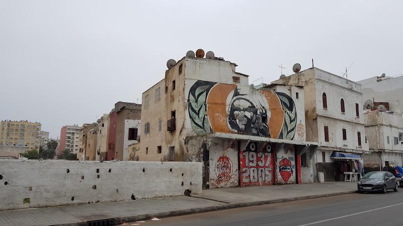 Граффити на районе