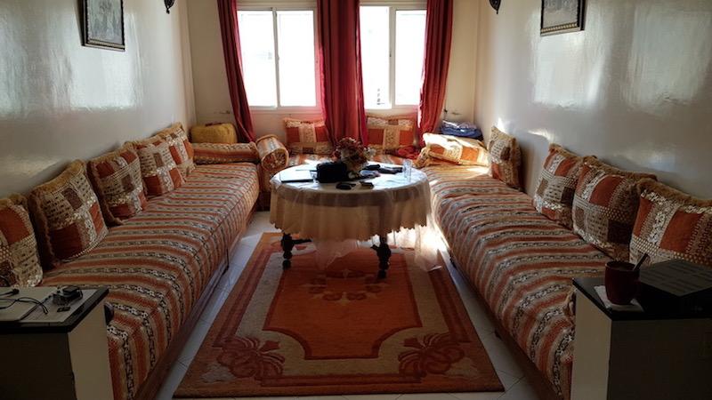 Настоящий марокканский зал выглядит вот так