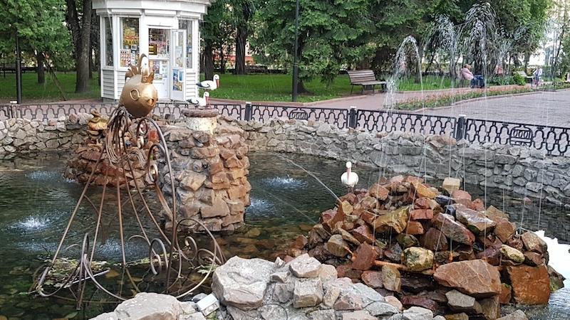 Милый фонтан