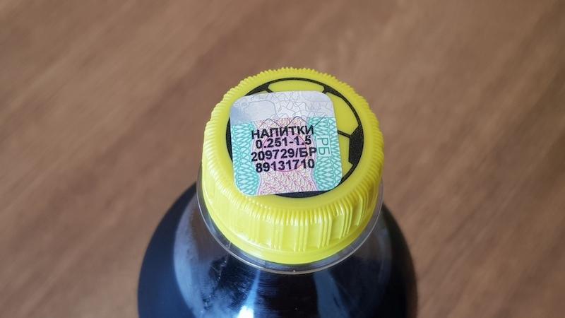 На безалкогольных напитках есть акцизная марка