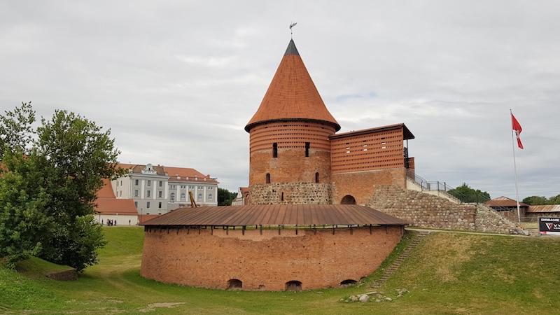 Центральная достопримечательность - Каунасский замок