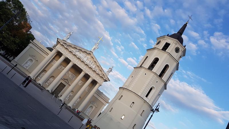 Одна из центральных площадей со зданием Кафедрального собора